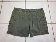 Knightsbridge Size 42 Large Green Shorts Pleated Casual Shorts Distressed PS642