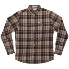 MATIX Brooklyn Flannel Shirt (L) Grey