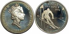 NEW ZEALND  5 DOLLARS 1994 KM#96 ARGENT SILVER 0.925