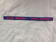 Original WW2 British Royal Marines Battledress 'cash tape patt' Shoulder Titles