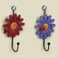 AG_ US_ HD_ KE_ BG_ Flower Wall Door Hook Kitchen Bathroom Towel Coat Hanging Ho