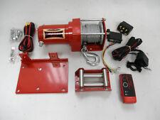 Seilwinde für ATV Quad mit Fernbedienung 1133kg NEU Dragon Winch Elektrowinde