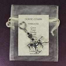 HORSE TOTEM CHARM Amulet Talisman Celtic Heart Symbol Sign Pony Animal Magick