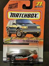 1999 Matchbox Classics Series 71/100 '70 Pontiac GTO