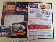 Metal Earth 3D Kit Metal to Mount Poe Dameron S X Wing Figter Star Wars New