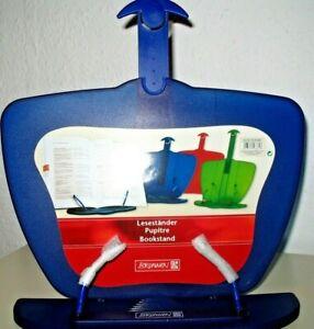 Leseständer, Kunststoff, blau, Marke Brunnen