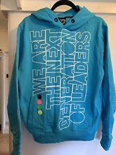 Designer BCK & HRSY Size M Blue Hoodie