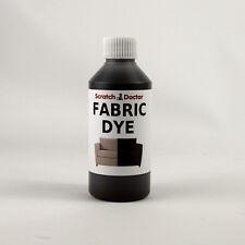 DARK BROWN Fabric Dye for Sofa, Clothes, Denim & more. Repairs & Re-Colours