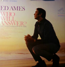 ED AMES LP WHO WILL ANSWER AND OTHER SONGS OF OUR TIME 1968 MADE IN USA