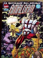 Le Battaglie del Secolo - AMALGAM n°16 1998 ed. Marvel Italia  [G.199]