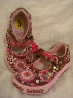 Lelli Kelly Vivian Dolly Choco Mary Jane  6.5 Beaded Pink Brown NEW
