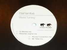 "HARAMBE - World Turning - UK 2002 4-track 12"" Vinyl Single"