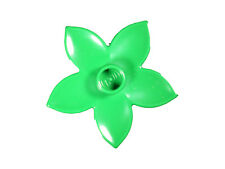 LEGO 3741 Verde Pianta Fiore Giardino Attacco Manubrio Casa Erba 10 Pezzi O
