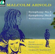 Malcolm Arnold: Symphonies Nos. 7 & 8 (CD, Conifer) Handley, Royal Philharmonic