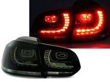 FEUX ARRIERE LED VW GOLF 6 CARAT 4MOTION R R LINE NOIR FUME CRISTAL LOOK R GTI