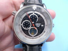 New Old Stock Ascot Barcelona Moon Phase 22J Automatic Auto Men Watch