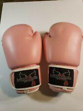 Pink I Love Kickboxing Boxing Gloves 12oz