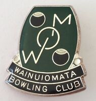 Wainuiomata Bowling Club Badge Pin Rare Vintage New Zealand (M21)