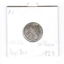 10 Cent 1827 Pays Bas Wilhelm I piece de monnaie ancienne en argent