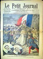 Le Petit Journal N°886 du 10/11/1907 A bas les traîtres, Ullmo et Berton