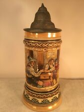 Vintage GERMAN STEIN. SAYS, WE HAVE TO RISE FIRST, THEN SEE WHAT DEVELOPS.