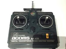 Vintage Acoms 4 Channel AP-435 Transmitter/ Controller. Tamiya R/c Japan