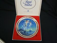 """Royal Windsor """"Gloria in Excelsis Deo"""" Plate #4575 1991 Issue 9"""" Orig Box"""