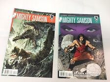 Mighty Sampson #1-2 (Dark Horse/Jim Shooter/1014192) COMIC COLLECTION LOT OF 2