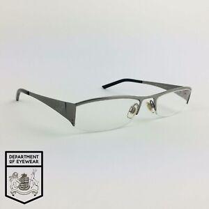 DOLCE & GABBANA eyeglasses GREY HALF RIMLESS glasses frame MOD: D&G 4134 731