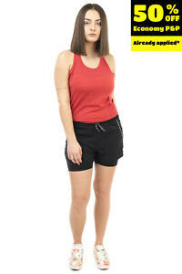ONLY Training Shorts XS Stretch Breathable Quick Dry Layered Drawstring Waist