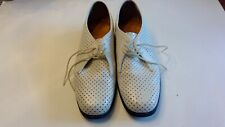 Vintage Hush Puppies Hound Dog white casual shoes size 71/2m