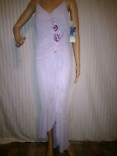 LENOVIA USA Womens Juniors Size XL Formal Party Dress Lavender Sequin NWT!