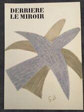 George Braque, Derrière Le Miroir, Nr2, vintage Original  Lithograph 1956