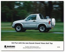 Suzuki Grand Vitara Soft Top Press Release Photo. June 1999
