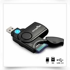 USB 3.0 Multi 2 in 1 Memory Card Reader Adapter SD/TF Micro SD Computer Laptop