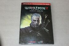 WITCHER 2: Assassins of Kings  Official Guide - 144 PAGES  POLISH EDITION RARE,