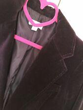 Sussan grape purple velvet jacket blazer