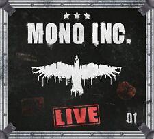 MONO INC. - MONO INC.LIVE 2 CD NEW!