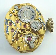 Vintage Mathey - Tissot 722 Mechanical Wristwatch Movement -  Parts / Repair