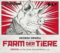 FARM DER TIERE - ORWELL,GEORGE   CD NEW