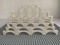 LEGO White Arch Bricks Parts X37 Piece Mixture 3308, 15254, 6182, 92950, 3659