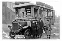 pt1839 - Bishop Auckland Bus , Durham - photograph 6x4