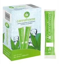Cannafreeze Wassereis mit Hanfaroma THC-frei 100% Legal 10 Stück á 40 ml NEU Eis