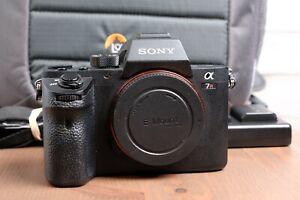 Sony Alpha a7R II 42.4MP Digital Camera - Black (Body Only) with Lowepro Bag