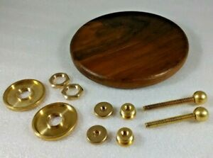 Crystal Radio Detector Kit With Glass Capsule and 4 Inch Base Unassembled Parts