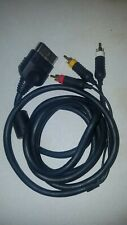 AV Composite Cable for Microsoft XBox Original OEM Red White Yellow.