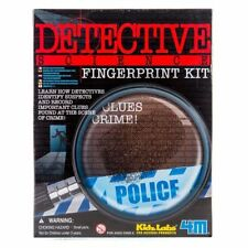 Detective Fingerprint Kit Forensics Detective Crime Science by 4M SEALED IN BOX