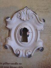 Skeleton key hole shabby cottage distressed Candle Jewelry Pin Tack set of 2