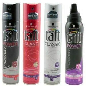 Taft Hairspray - Mousse Each 3 X Top