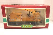 LGB 4042 G Scale Matra Yellow Construction Crane  Lehmann Gross-Bahn